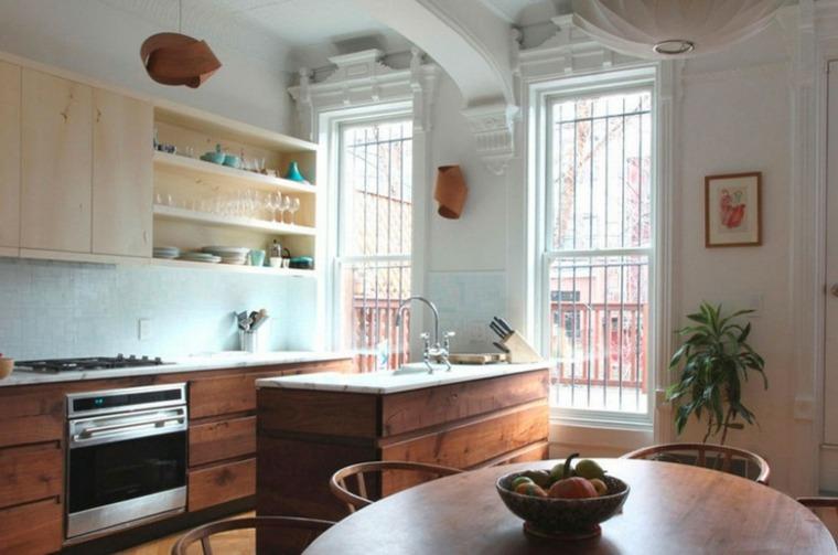 lamparas pared diseno forma original cocina ideas