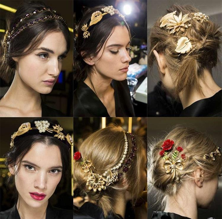 las mejores ideas joyas peinados modernos