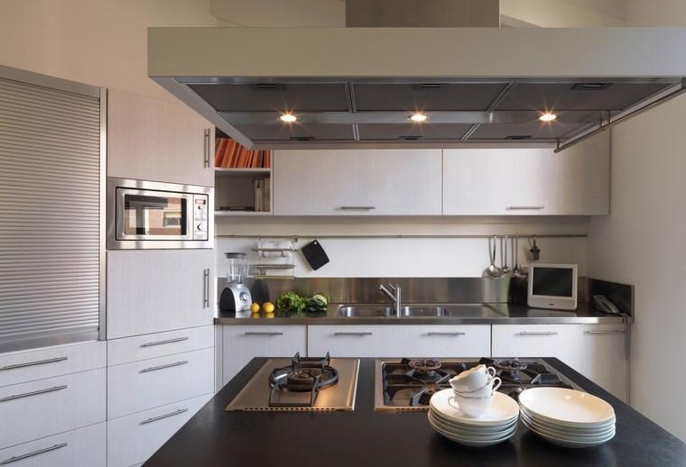 led opciones interiores cocina campana opciones ideas