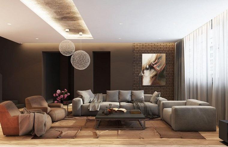 Luz led 100 interiores con dise o espectacular for Muebles de salon con luz led