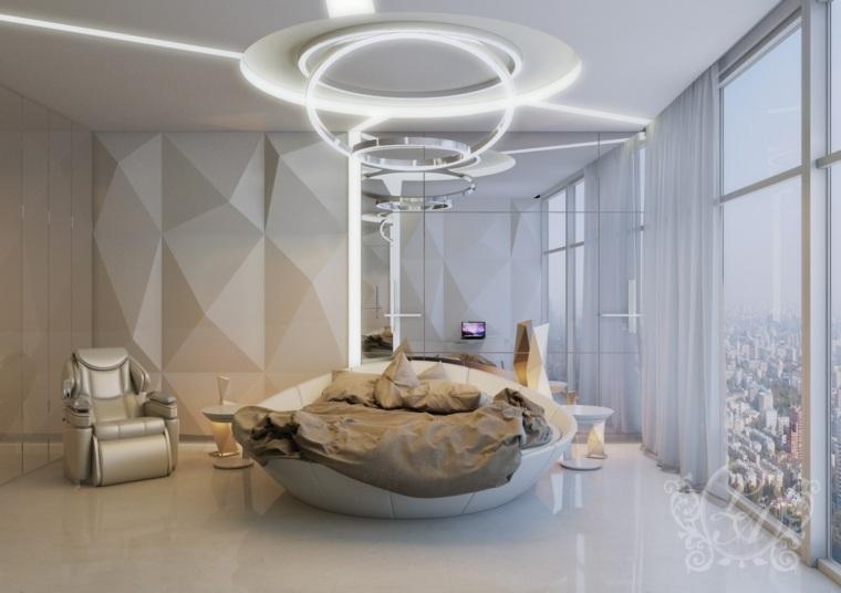 life arch cama redonda moderna