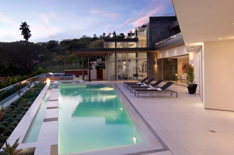 lineas generales diseños estilos piscina