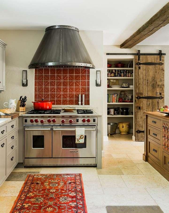 llamativas cocinas estilos diseños metales