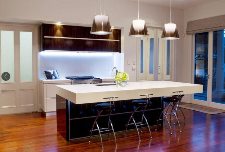 luces cocina diseño moderno