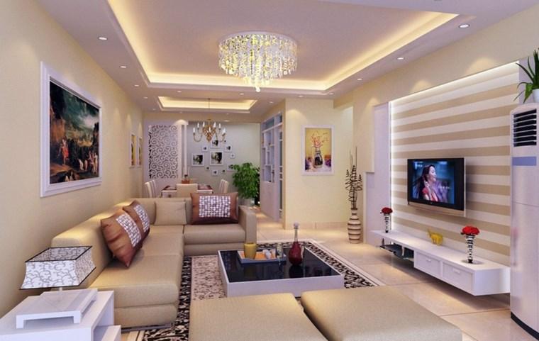 Luz led  100 interiores con diseño espectacular