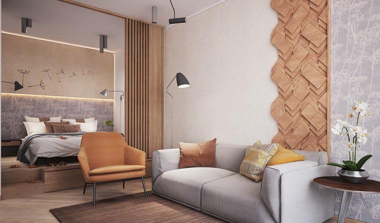 luz led opciones interiores apartamento pequeno ideas