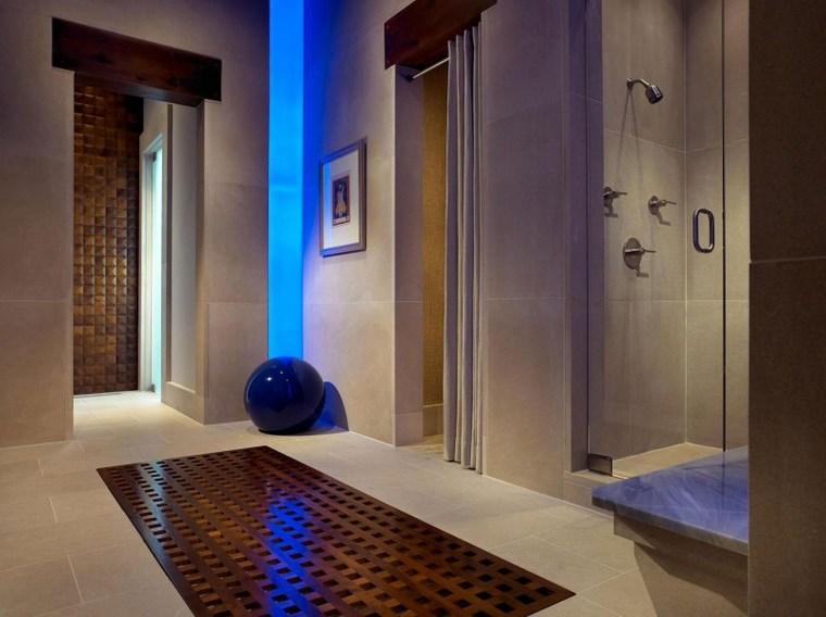 luz led opciones interiores bano ducha ideas