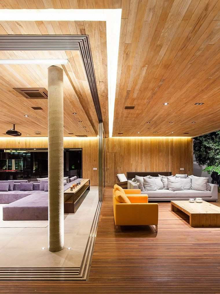 luz led opciones interiores residenica moderna ideas