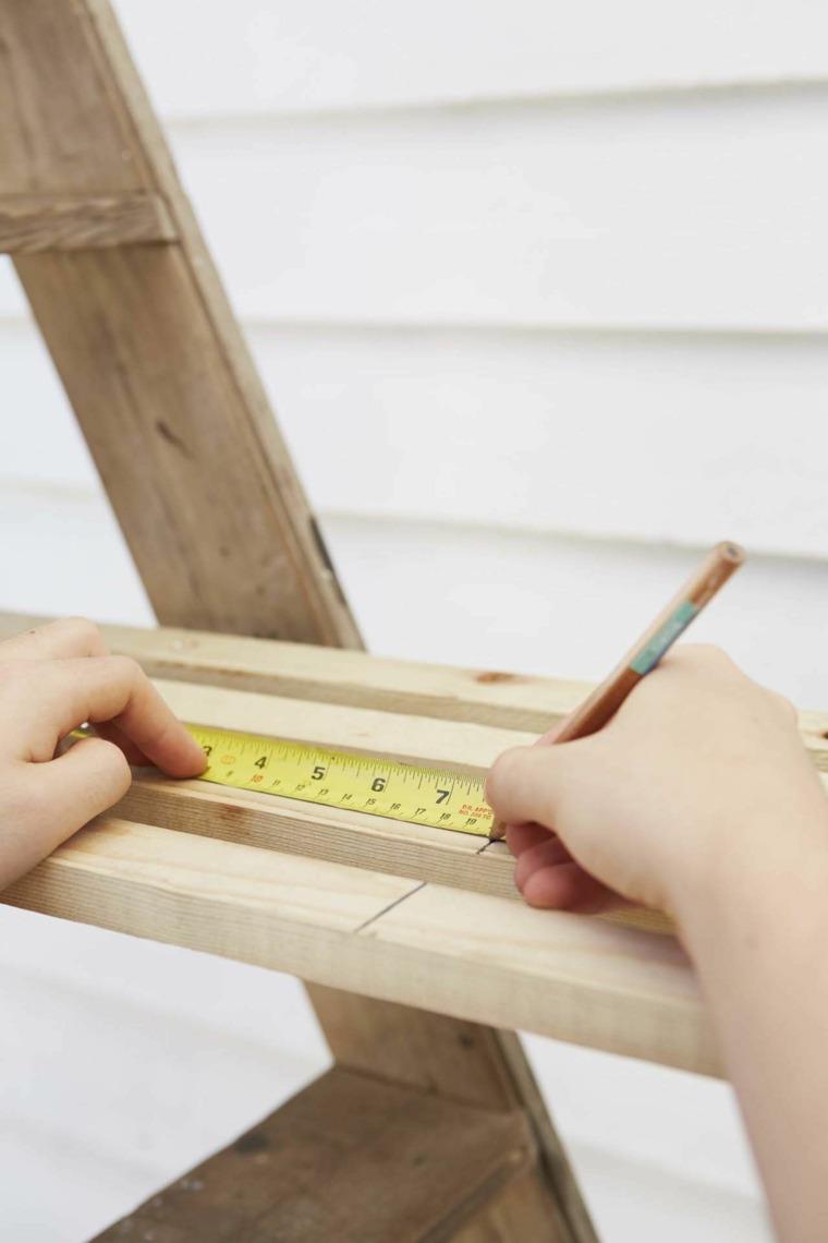 maceteros paso cuatro medir laminas madera ideas