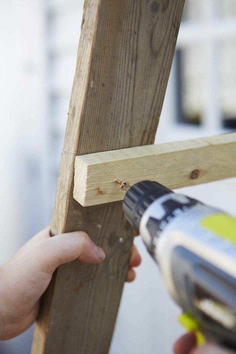 maceteros tercer paso perforar para poner lamina madera ideas