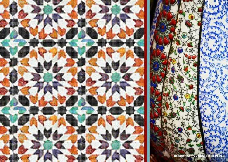 colección maioliche efecto colores
