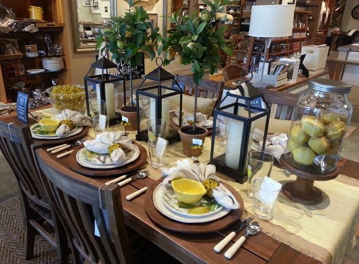 mesa centro primavera candelabros negros ideas