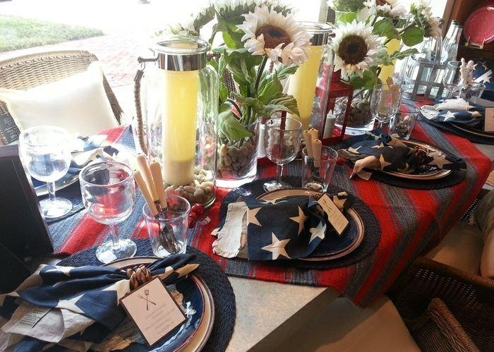 mesa centro primavera colores oscuros flores ideas