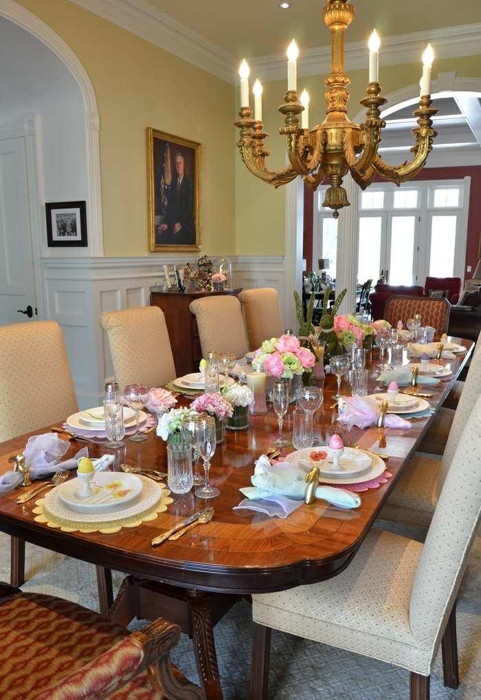 mesa centro primavera opciones comidas ideas
