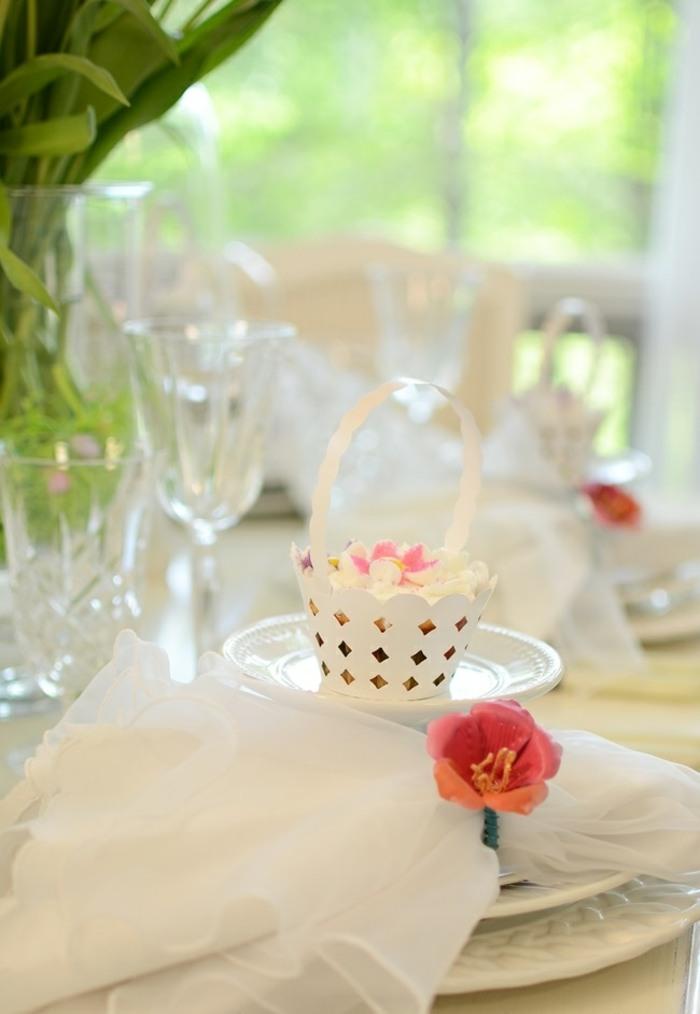 mesa centro primavera opciones decorar platos ideas