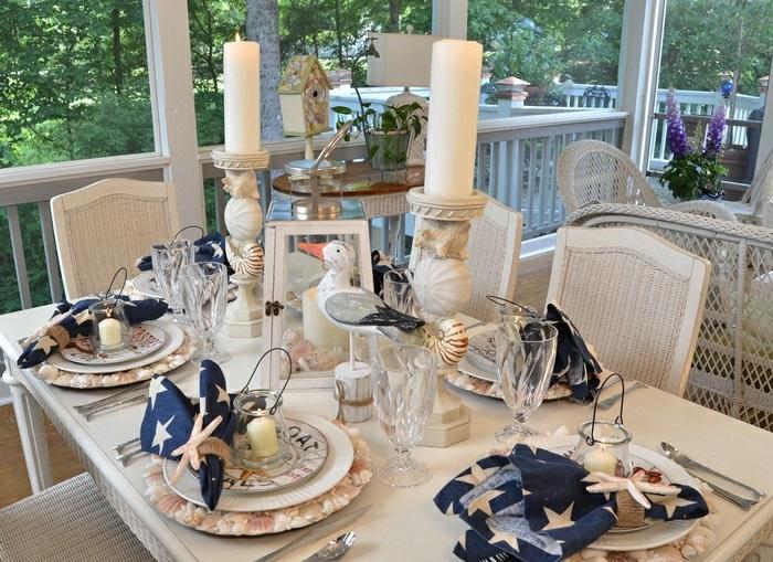 mesa centro primavera porche precioso ideas