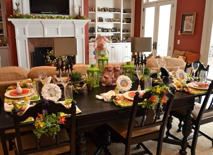 mesa centro primavera sillas ramos ideas