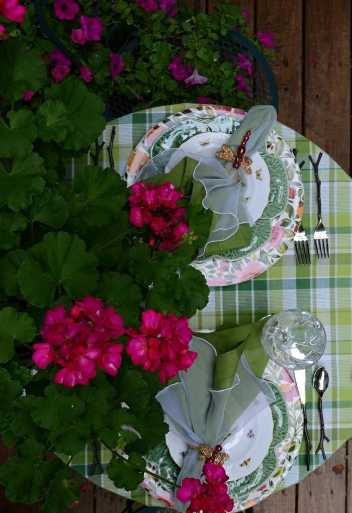 mesa dulce centro primavera romantica para dos ideas