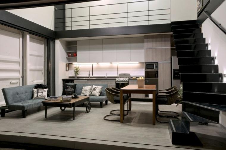 mesa original sofas cocina salon un espacio ideas