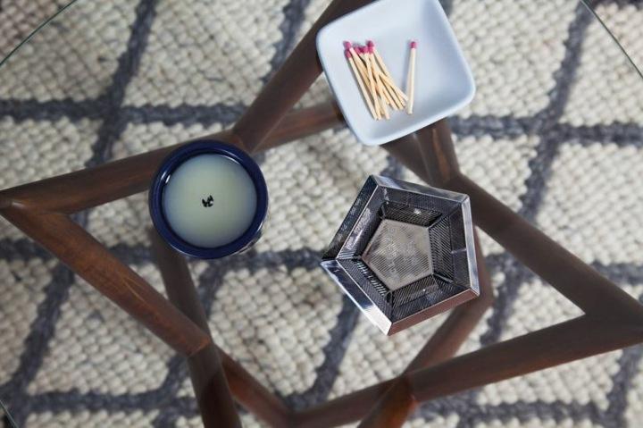mesas de centro decoracion alfombras velas