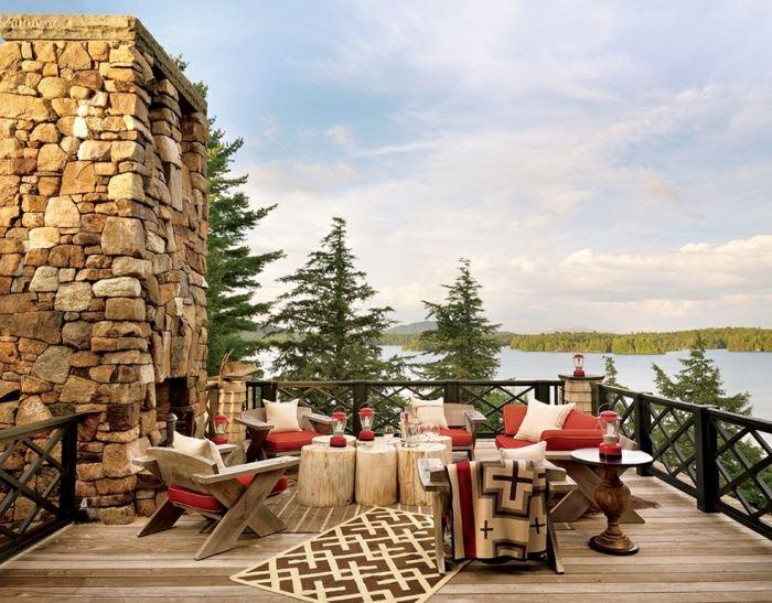 mobiliario terrazas forja soluciones muro rocas muros
