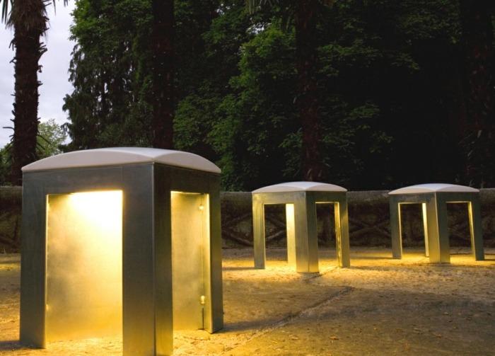 metales estructuras acero madera minimalista