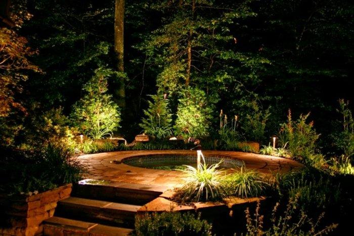 minimalistas bosques saltos agua fuentes