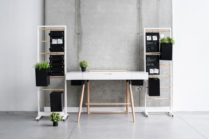 minimalistas salidas conceptos muebles escritorios