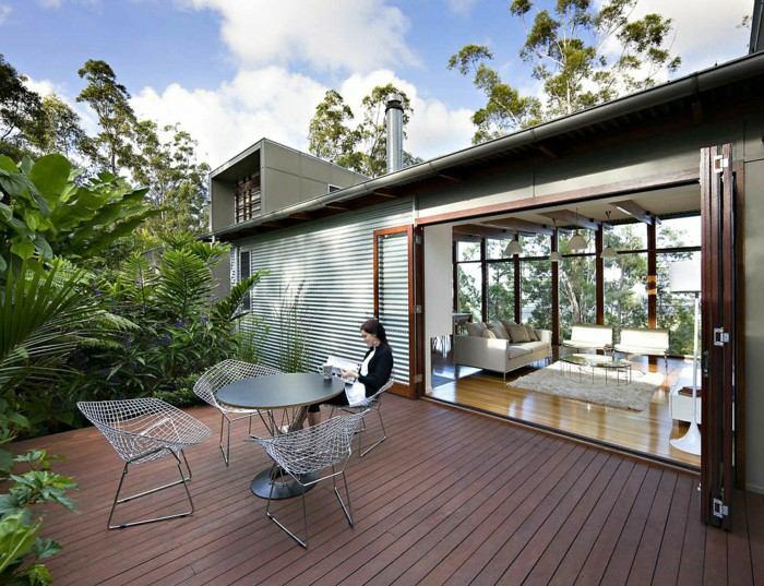 mobiliario terrazas aluminio cuerdas suelos