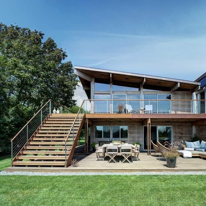 mobiliario terrazas paneles conceptos estilos amarillos