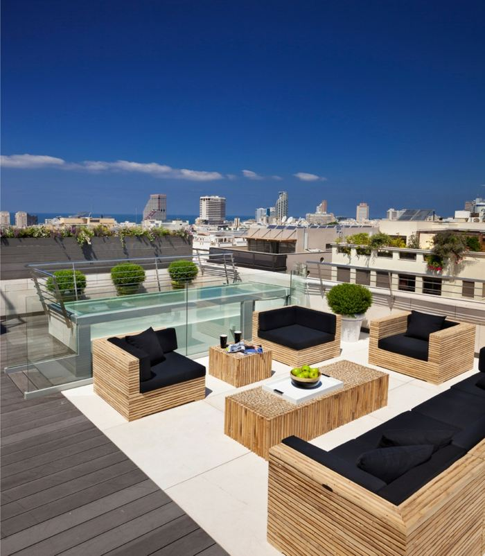 Mobiliario terrazas y dise os en 50 modelos inigualables for Mobiliario de terraza