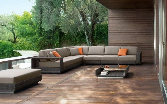 mobiliario terrazas paneles exteriores plantas