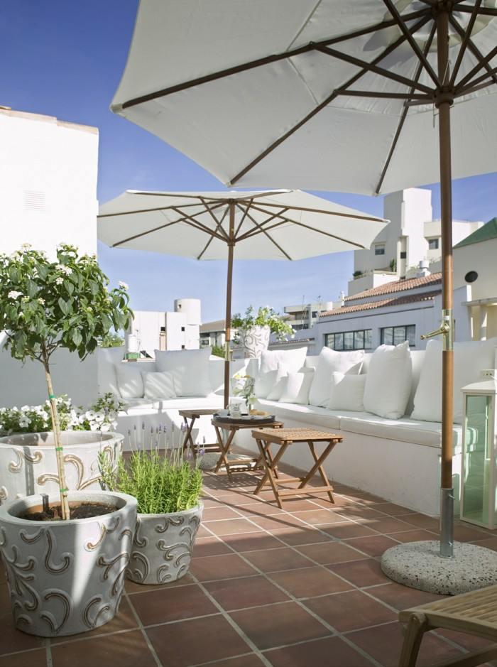 mobiliario terrazas paneles sombrillas emociones sombrillas