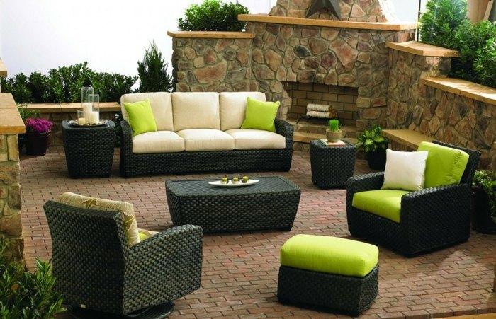 mobiliario terrazas rocas colores orlando flores