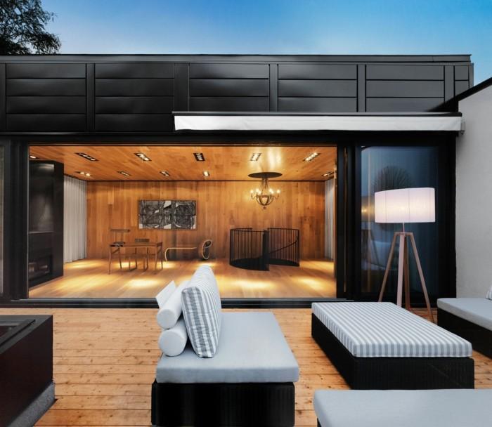 mobiliario terrazas ruedas espacios lamparas
