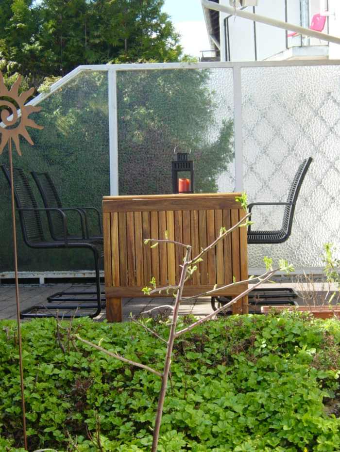 mobiliario terrazas velas colores metales cristales