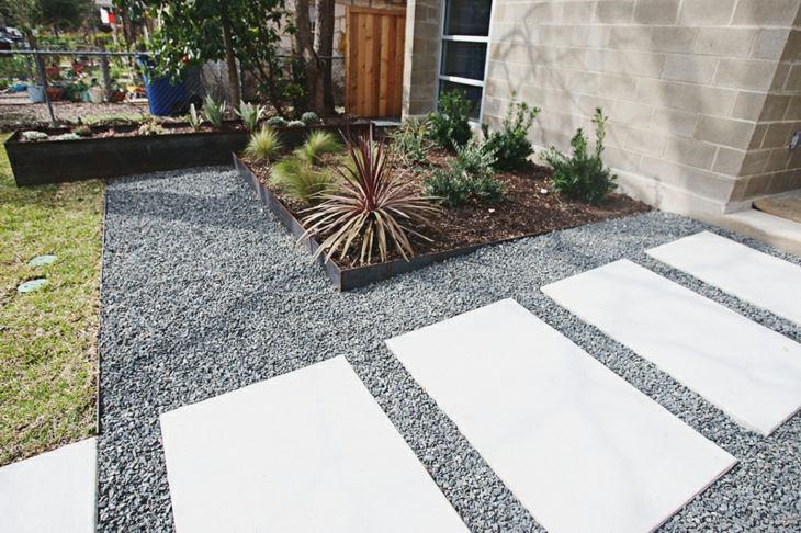 modernos senderos color estilo minimalistas