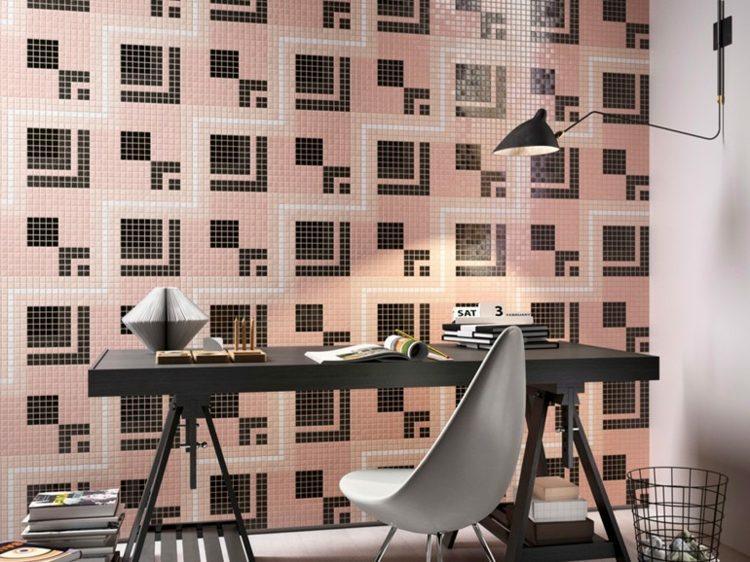 mosaicos diseño moderno interior