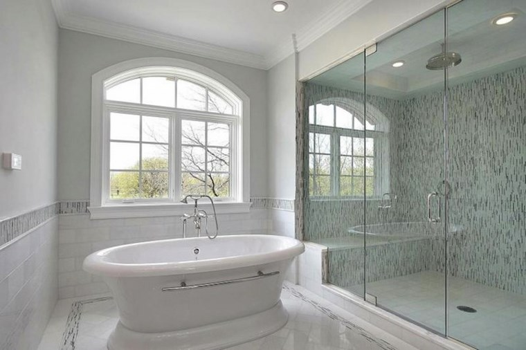 Jardin Vertical Baño:Mosaicos 115 diseños de baños atractivos y coloridos -