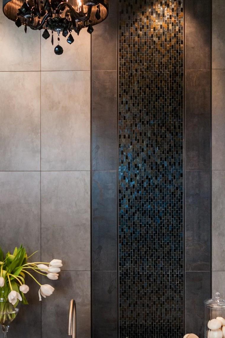 mosaicos bano moderno diseno maroqui ideas