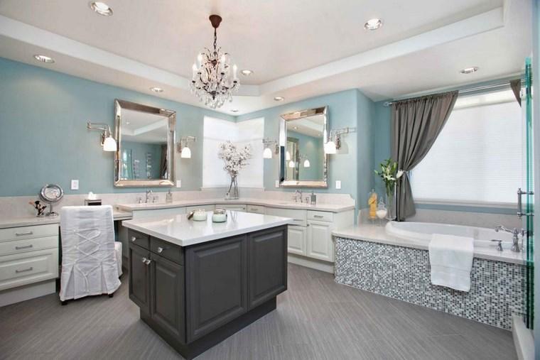 Baño Romantico Ideas:Mosaicos 115 diseños de baños atractivos y coloridos -