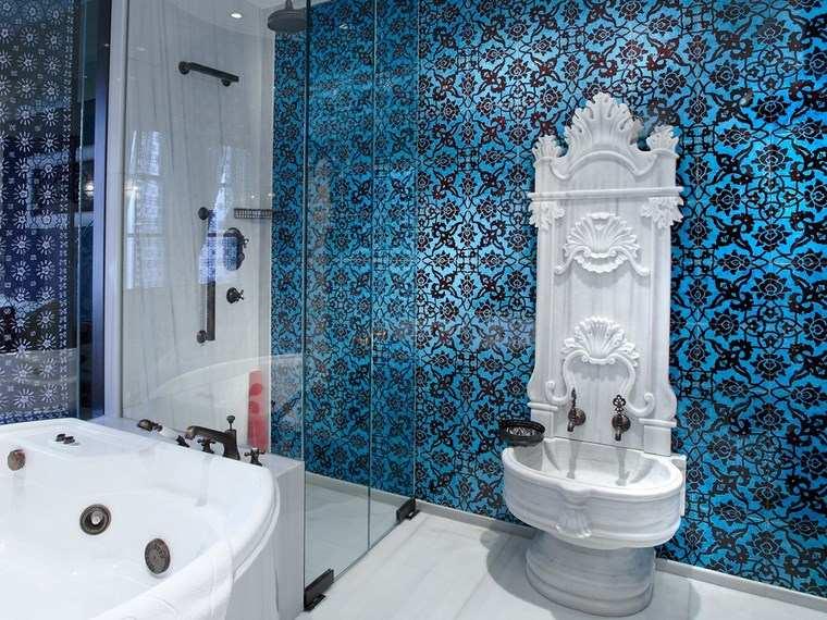 mosaicos bano moderno interesante atractivo ideas