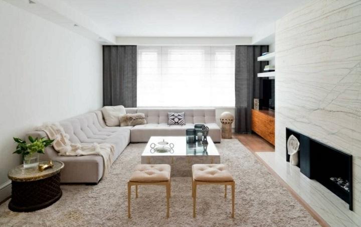 mudanzas ideas interiores estilos sillones dorados