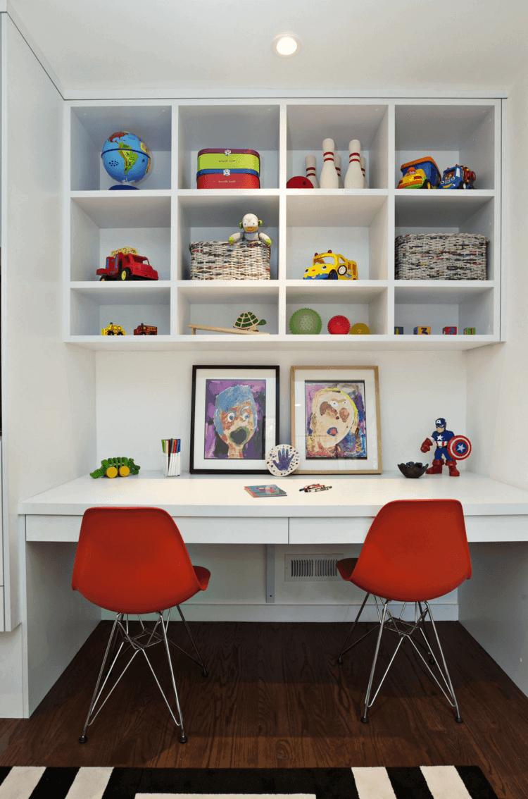 mueble escritorio dos sillas