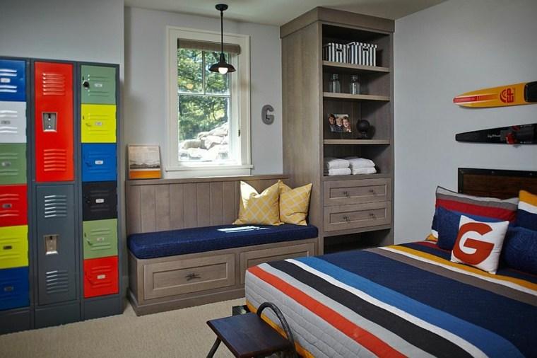 mueble estantes diseño clásico