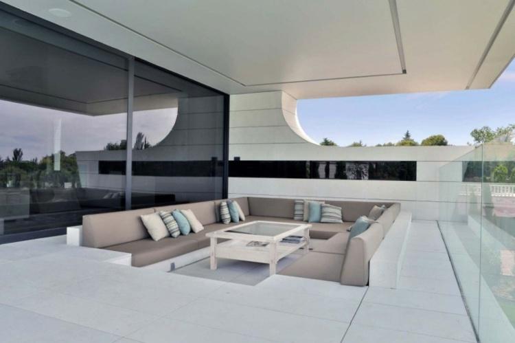 muebles a medida balcon amplio muebles comodos ideas