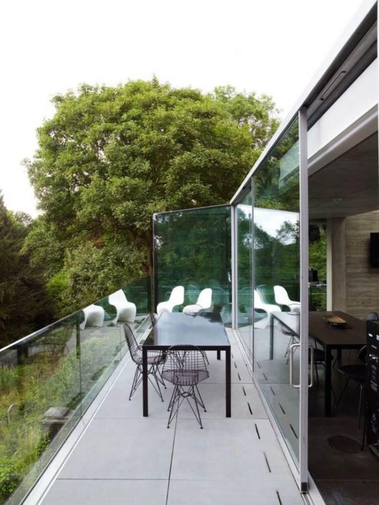 muebles a medida balcon casa pequenas opciones ideas