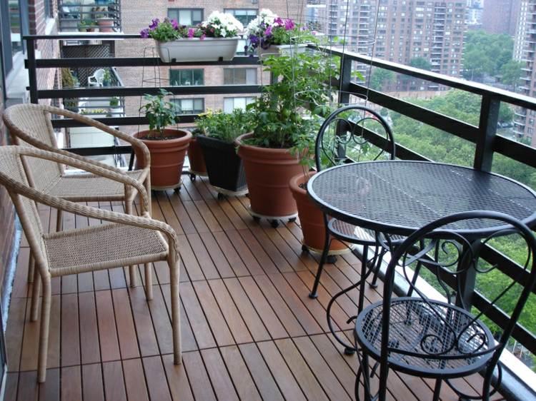 Muebles a medida e ideas para decorar el balc n Muebles para balcones pequenos