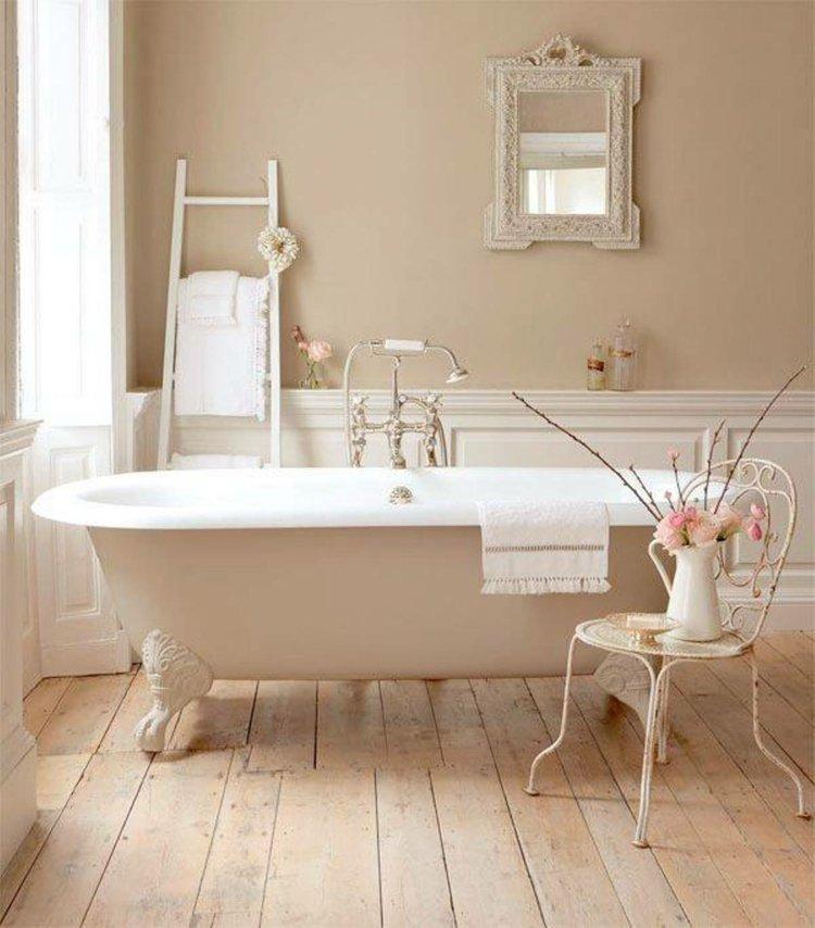 muebles baño estilo romántico
