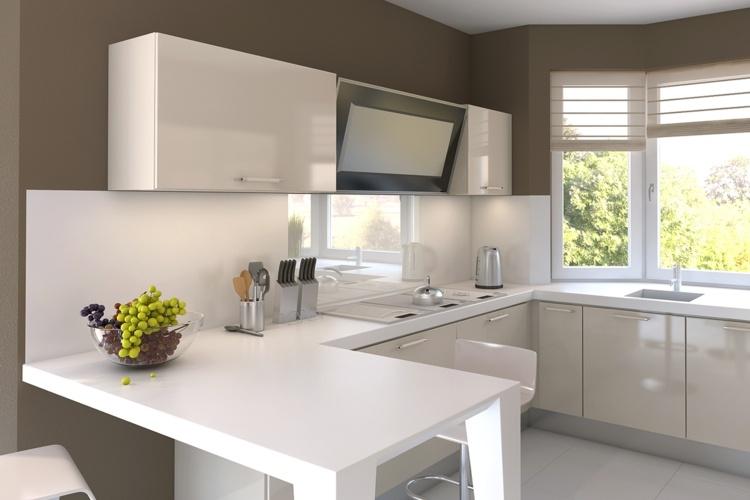 Cocinas peque as modernas los 25 dise os m s funcionales for Cocinas pequenas disenos modernos